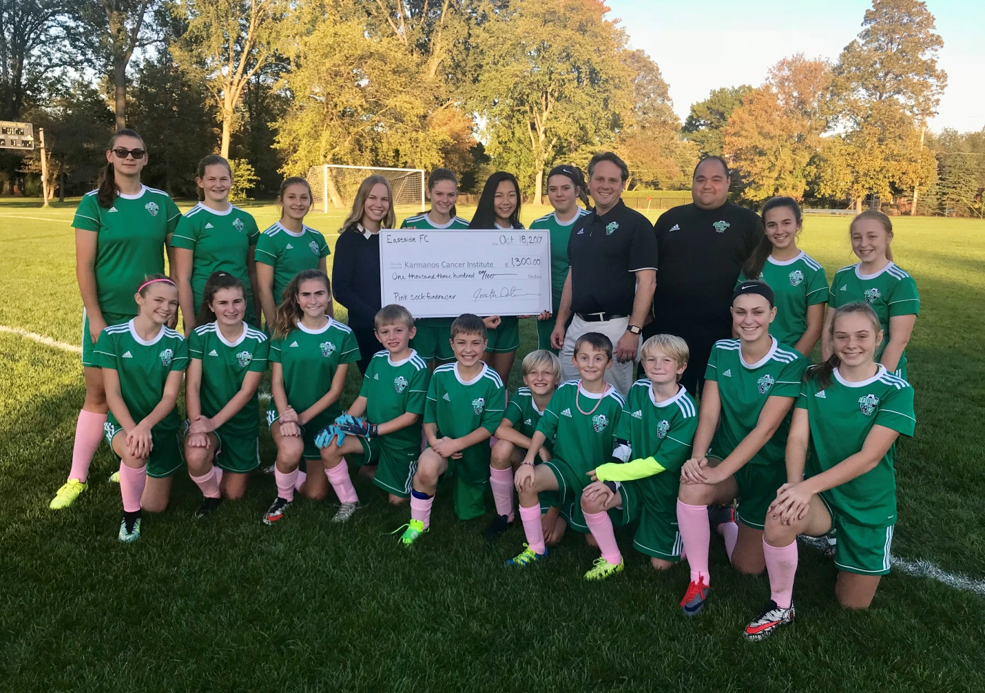 Eastside FC donation