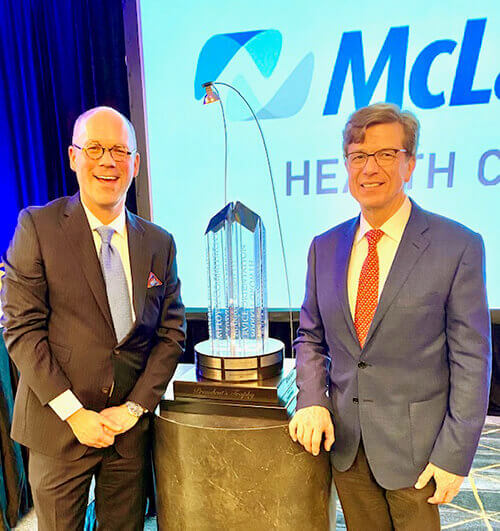 Karmanos awarded President's Trophy for second year in a row by McLaren Health Care
